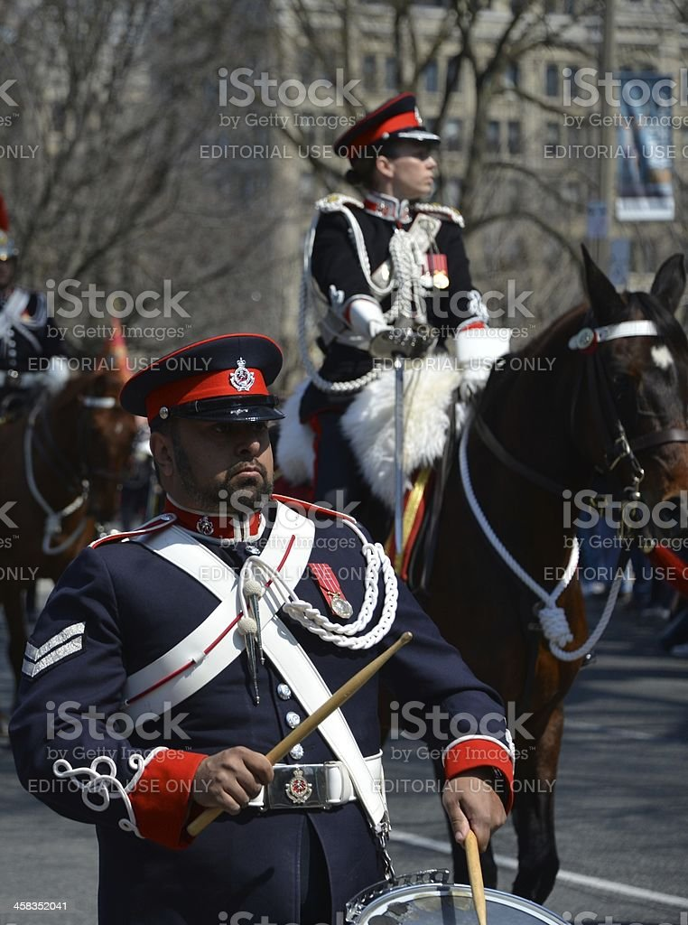 200th Anniversary of the 1812 Battle royalty-free stock photo