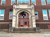 20th century grade school building