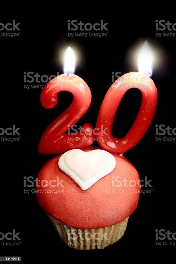 20th love anniversary royalty-free stock photo