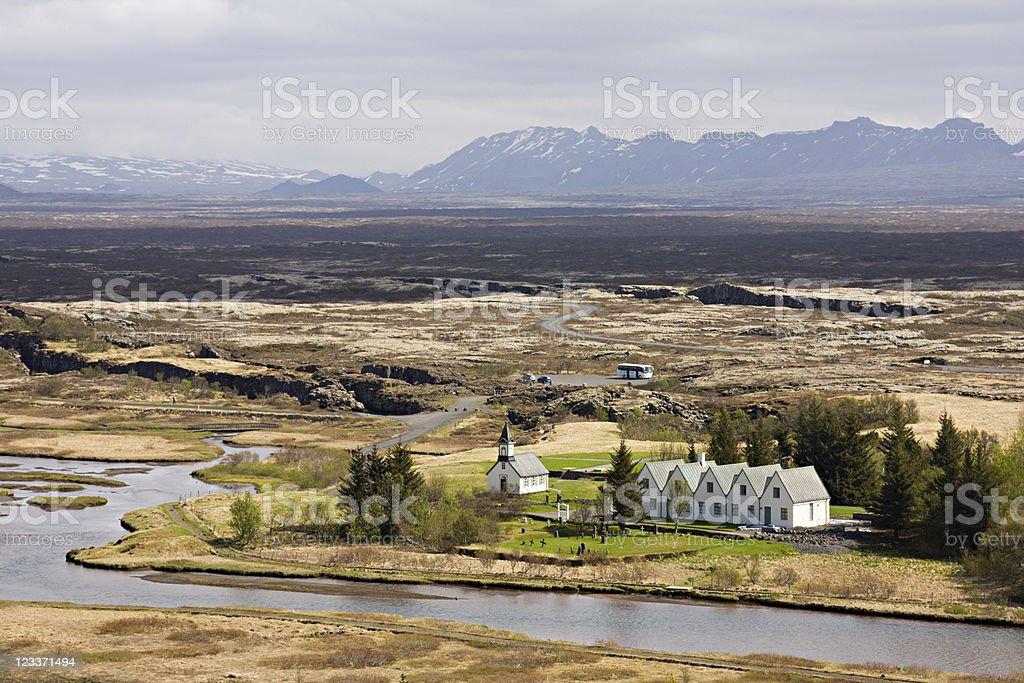 Þingvellir, Iceland stock photo