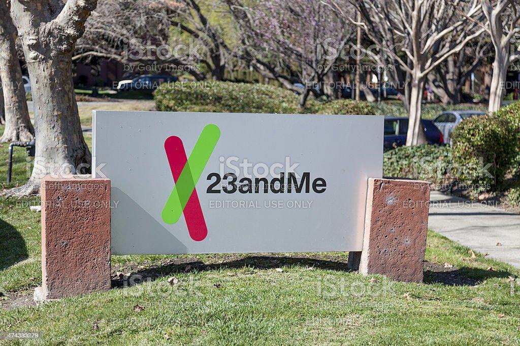 23andMe Headquarters stock photo