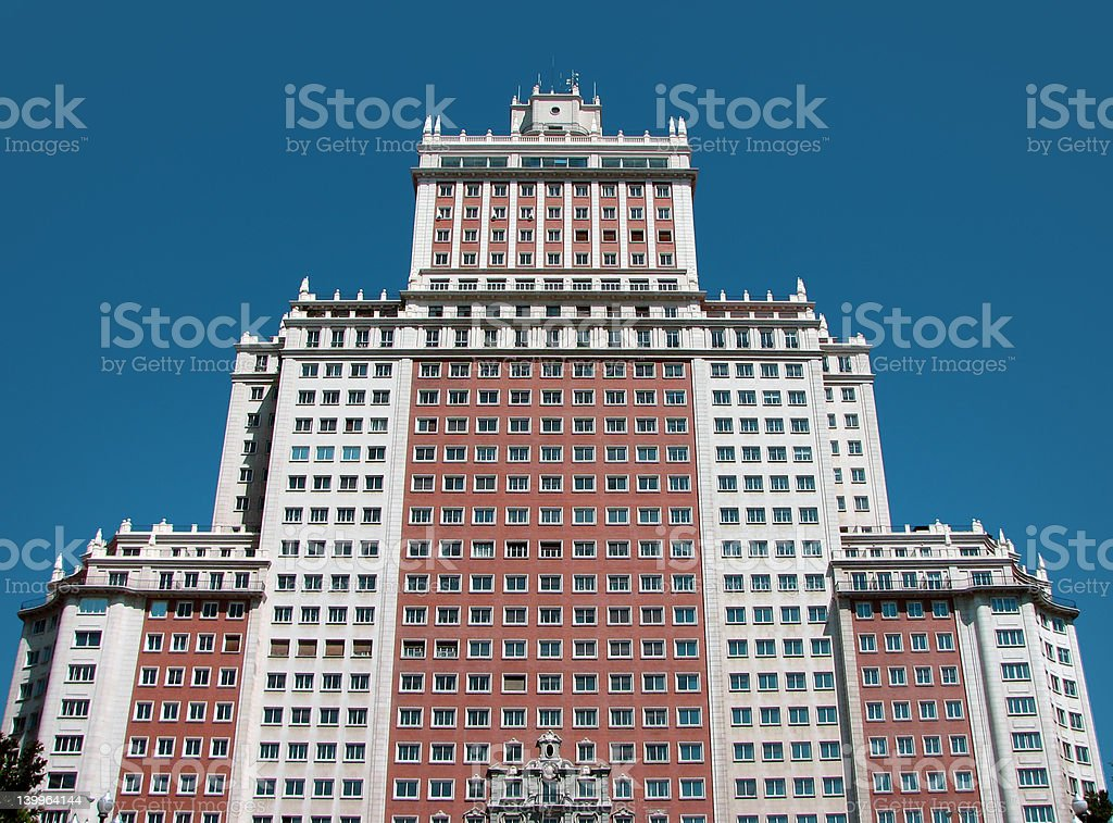 23-storey building royalty-free stock photo