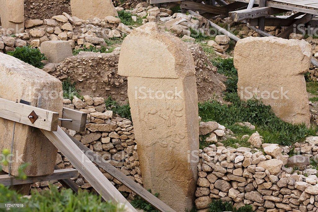 Göbekli Tepe royalty-free stock photo