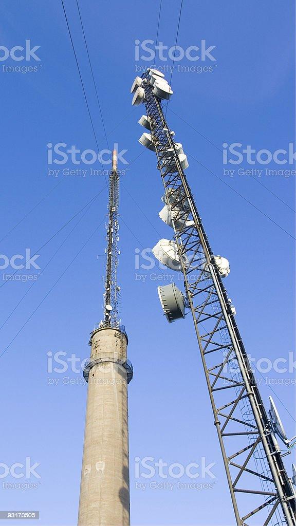 Sörmon Tv and Radio Tower stock photo