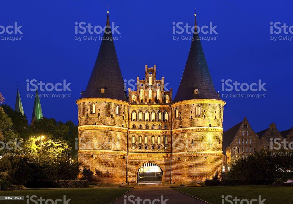 Lübeck, Germany. stock photo
