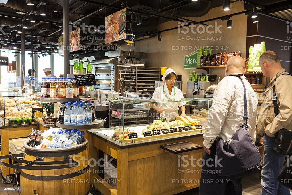 Düsseldorf International Airport stock photo