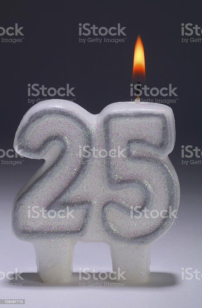 25th anniversary stock photo