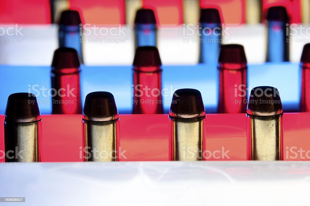 2nd Amendment Concept royalty-free stock photo