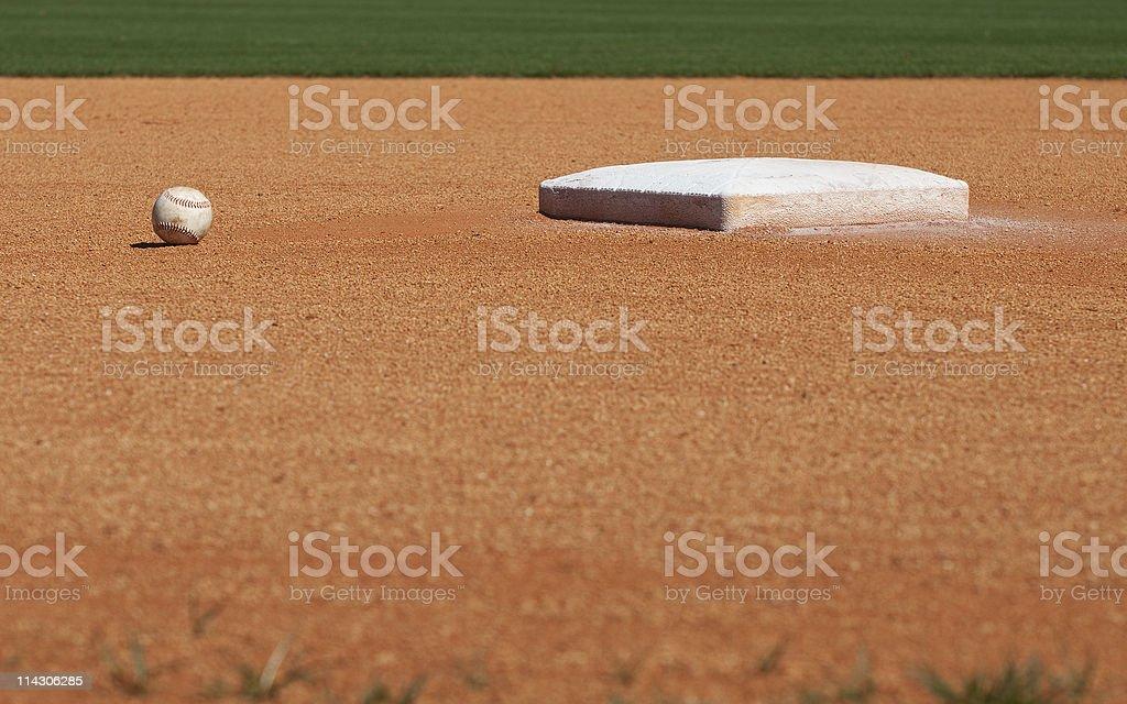2nd Base stock photo