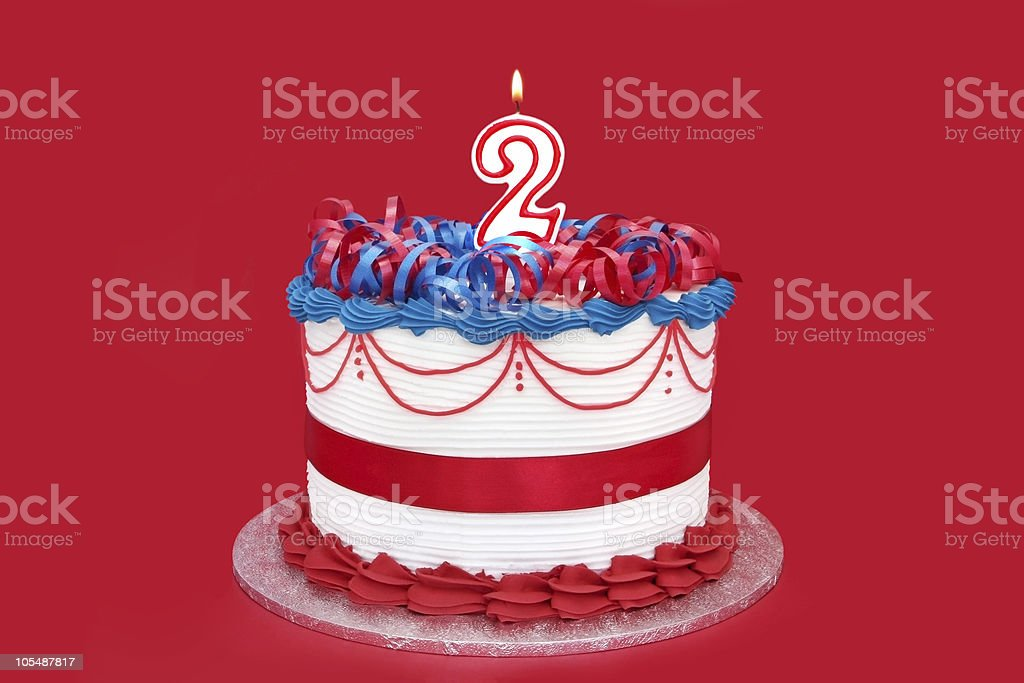 2nd Cake stock photo