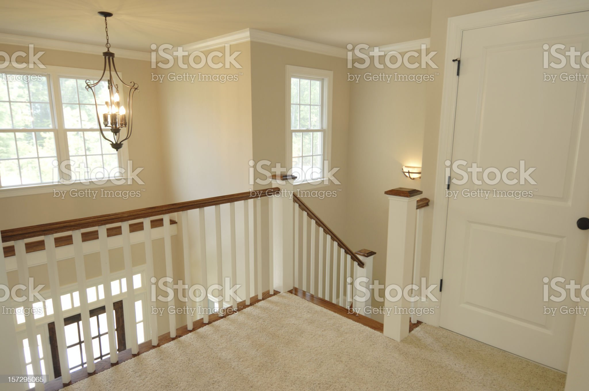 2nd Floor Landing royalty-free stock photo