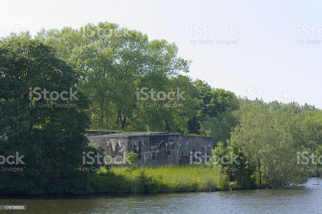 2nd world war bunker royalty-free stock photo