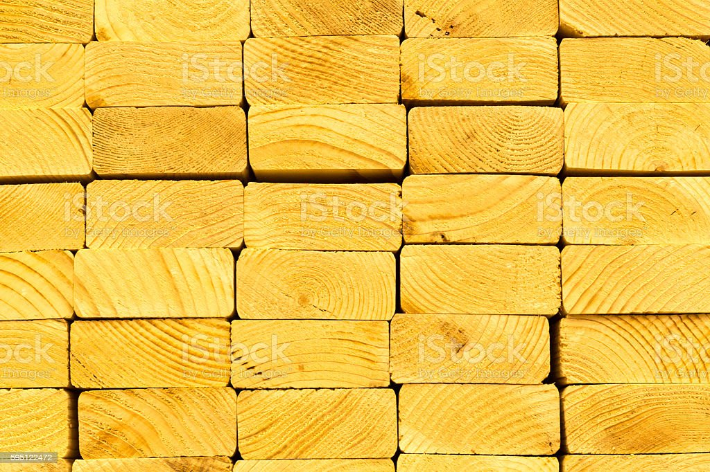 2x4 wood board plank ends abstract stacked stock photo