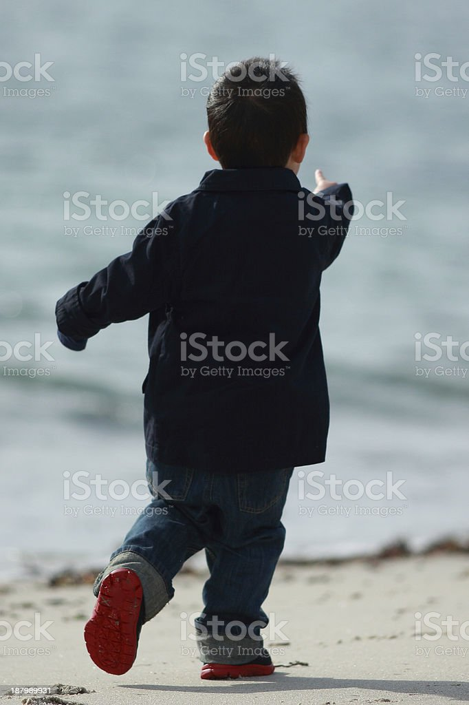 2-Year Old Boy royalty-free stock photo