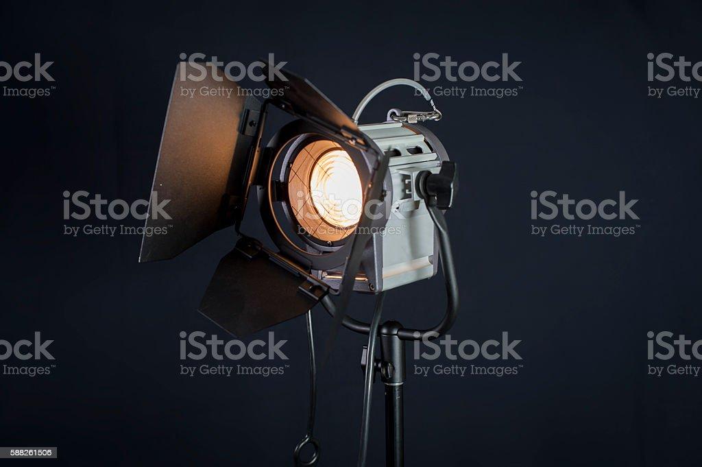 300w Light stock photo