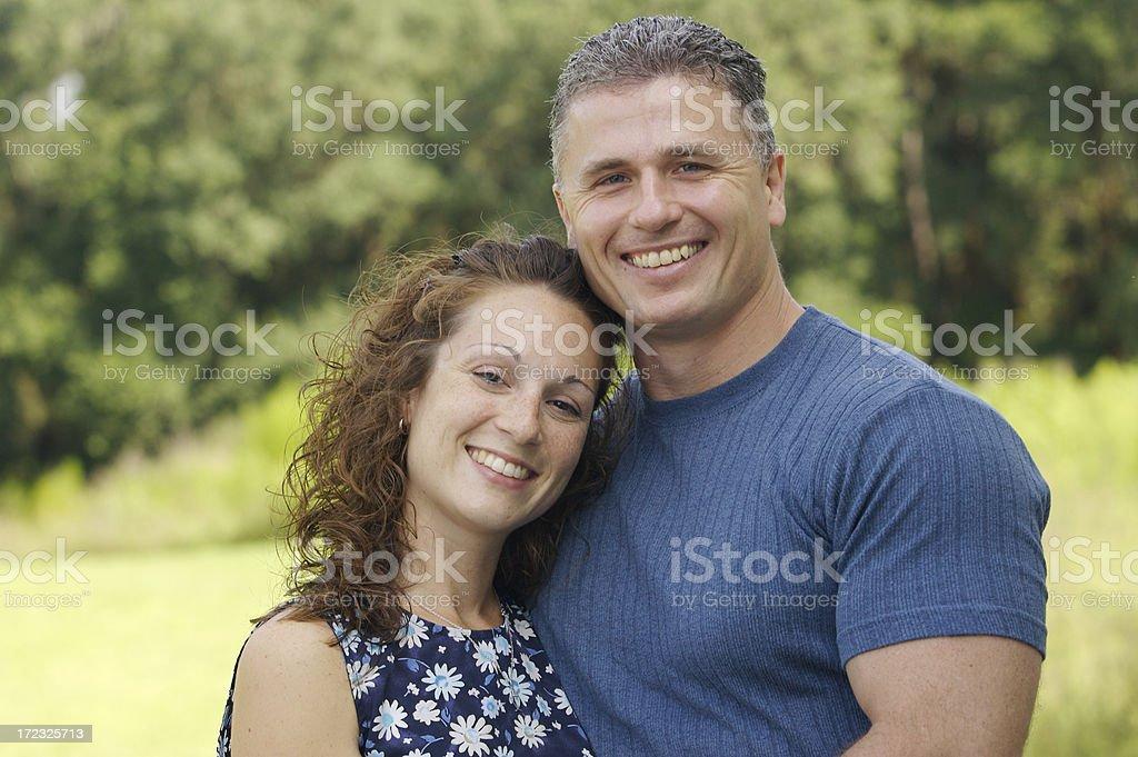 30-something couple royalty-free stock photo