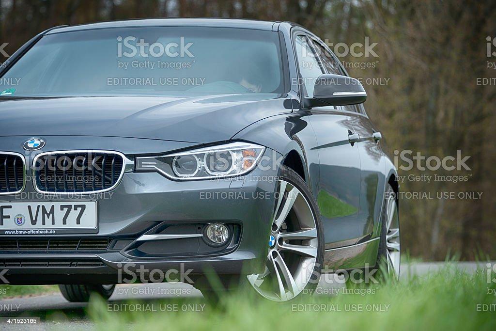 BMW 320d 2013 (E90) stock photo