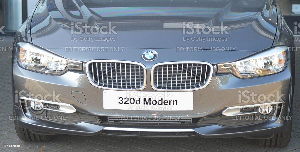 BMW 320d stock photo