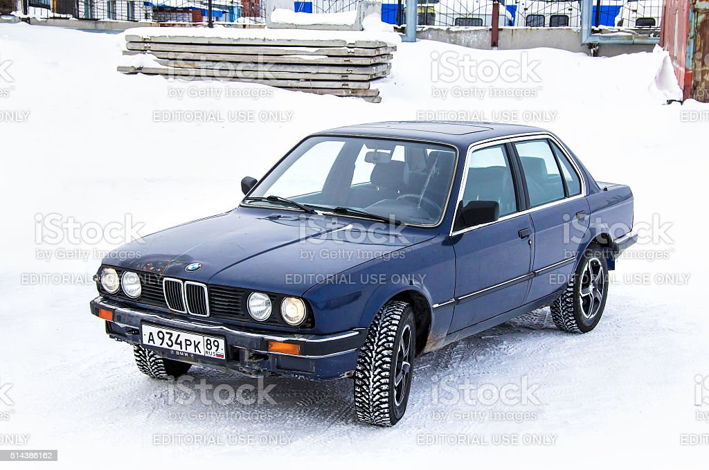 BMW E30 324d stock photo