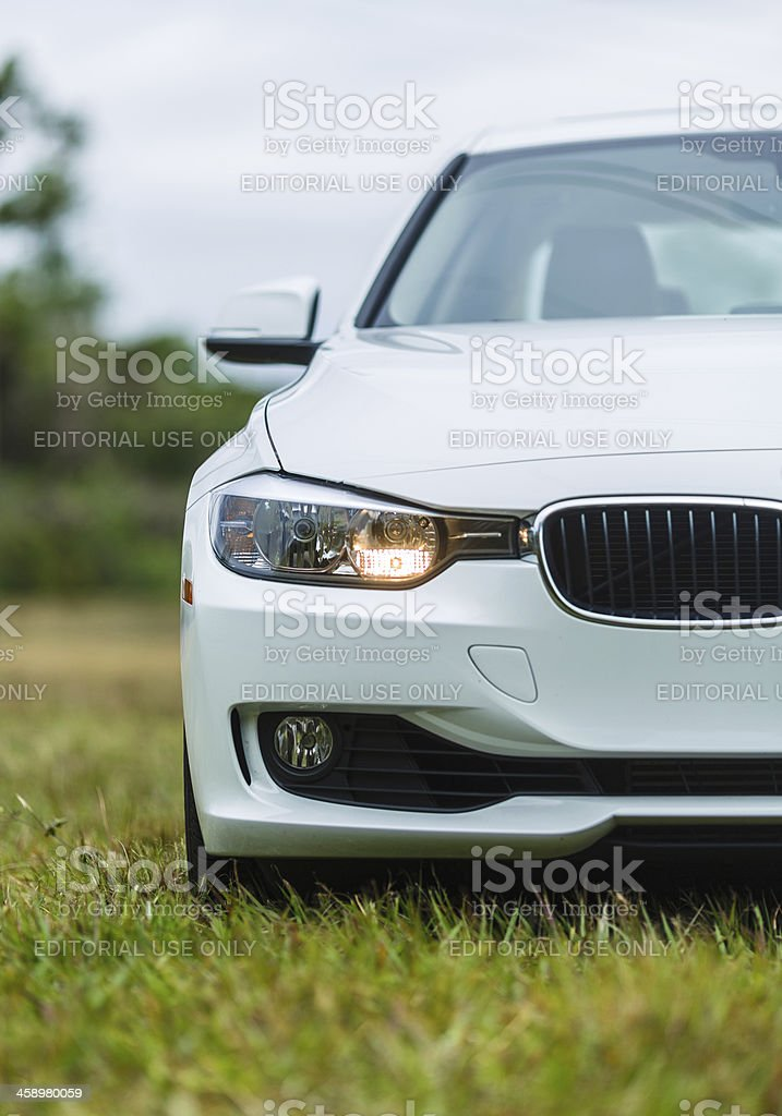 BMW 328i 2013 royalty-free stock photo