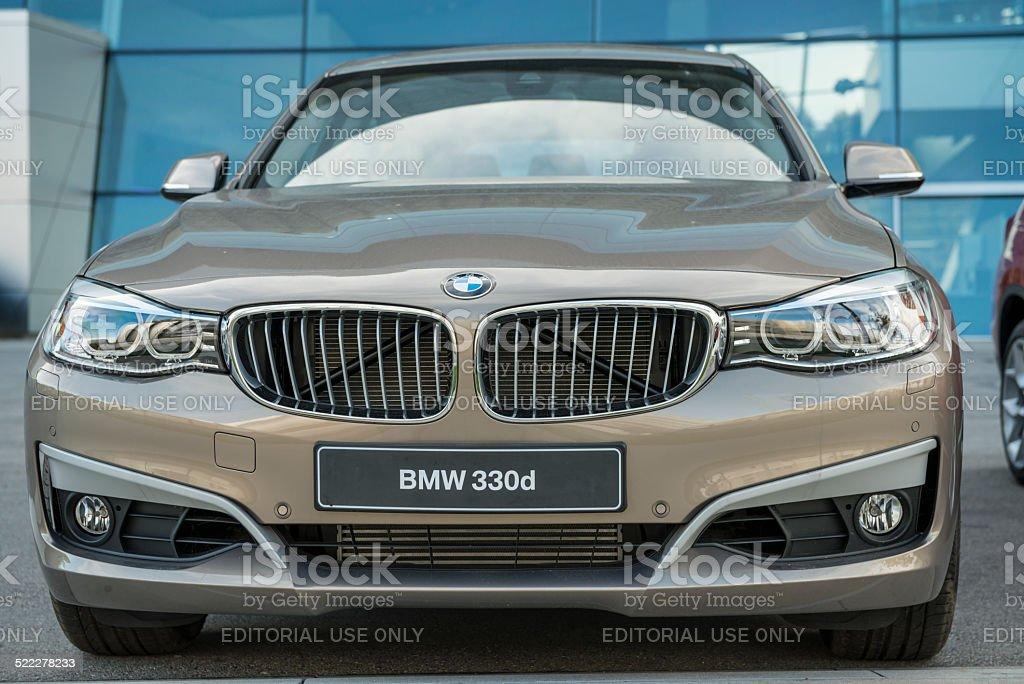 BMW 330d 2013 (E90) stock photo