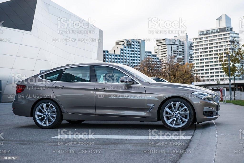 BMW 330d 2014 (E90)  3-series stock photo