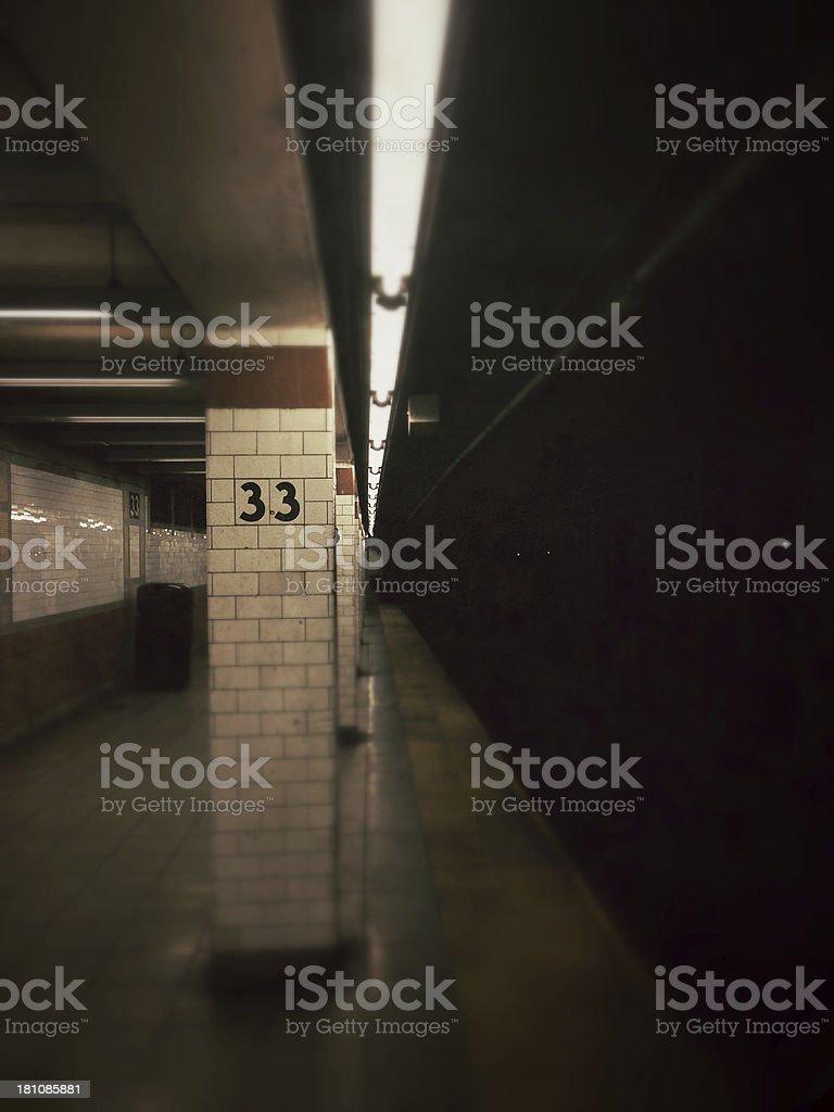 33rd Street Train Station stock photo
