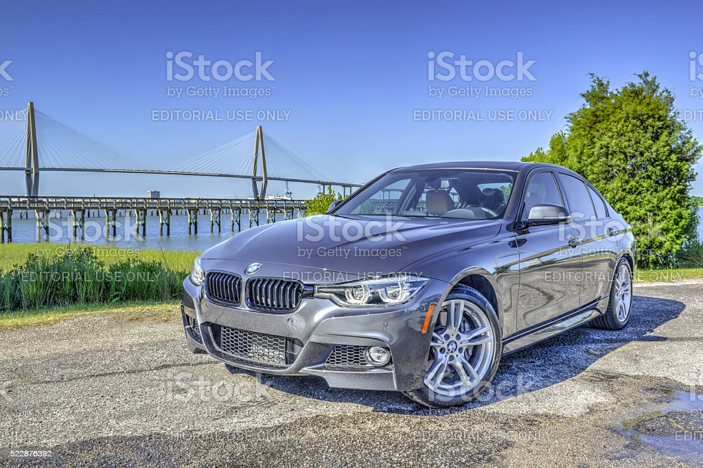 BMW 340i 2016 11 stock photo