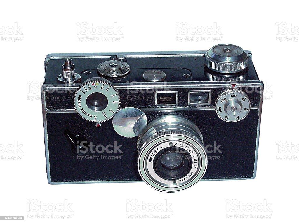 35mm Antique Camera stock photo