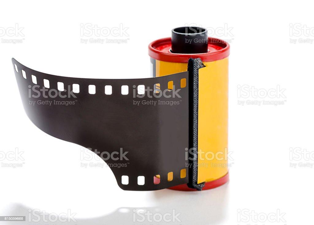 35mm Camera Film Isolated stock photo