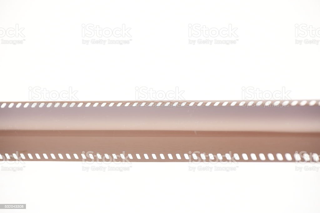 35mm camera film strip frame stock photo