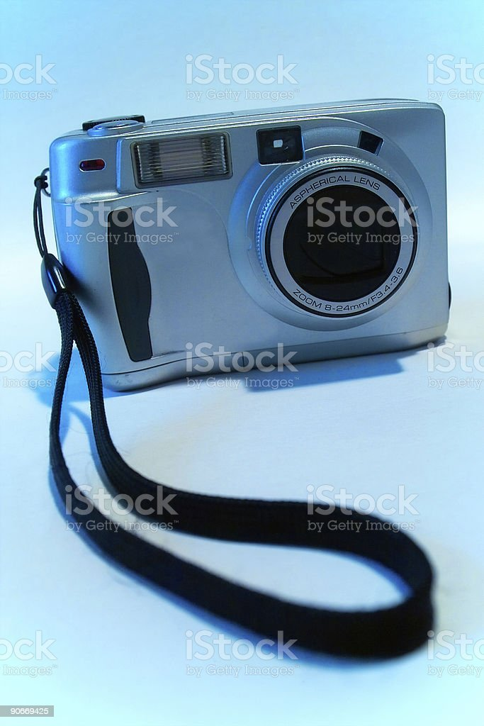 35mm digital camera stock photo