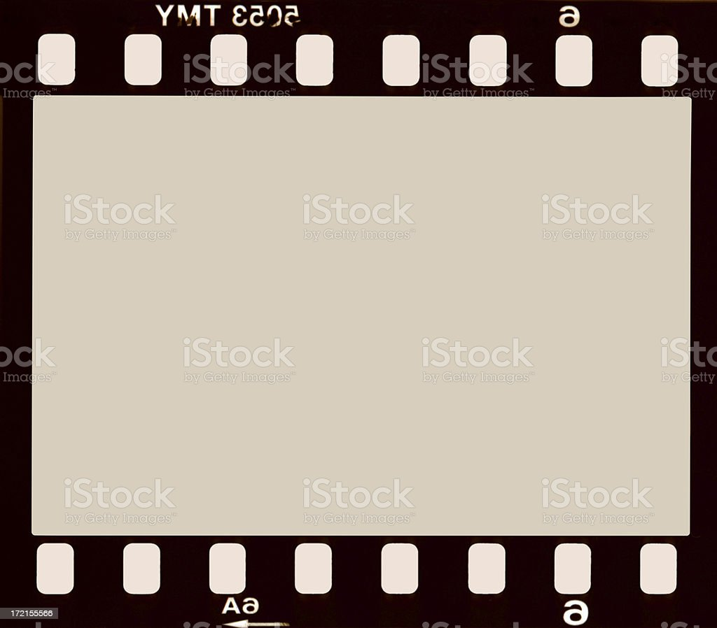 35mm Film Negative Background stock photo