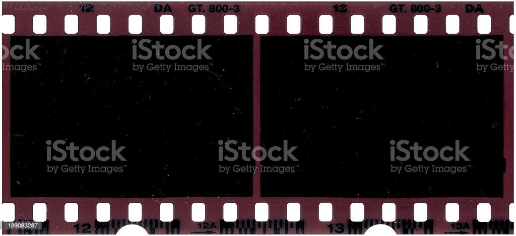 35mm Film Negative Frame royalty-free stock photo