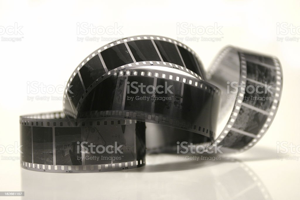 35mm film negative royalty-free stock photo