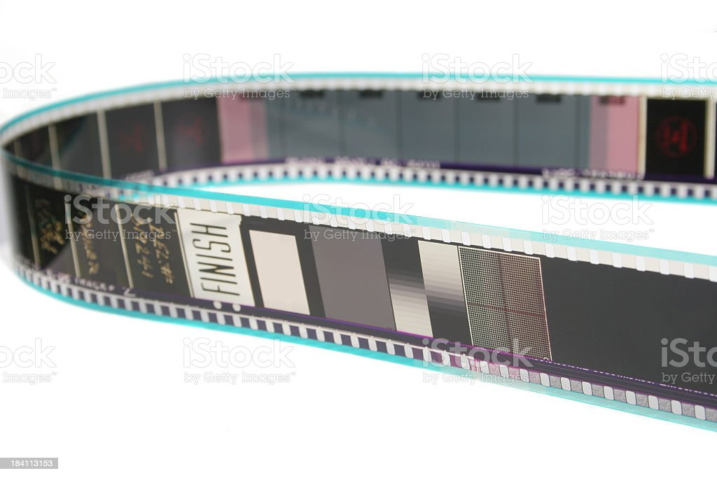 35mm film royalty-free stock photo