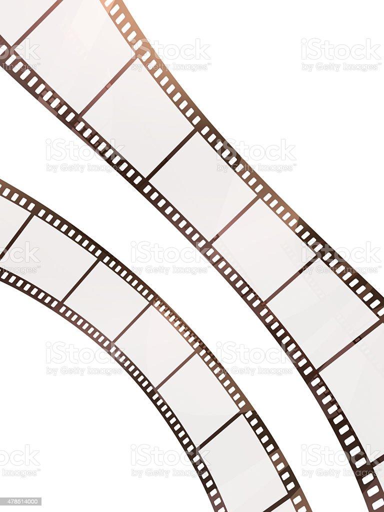 35mm film strip stock photo