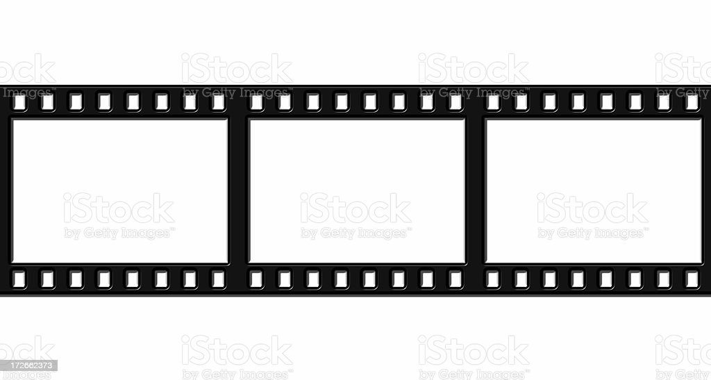 35mm in 3D multiple stock photo