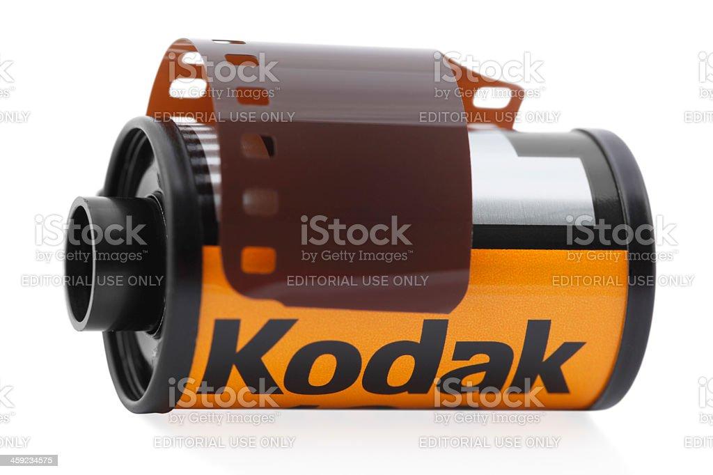 35mm Kodak Camera Film stock photo