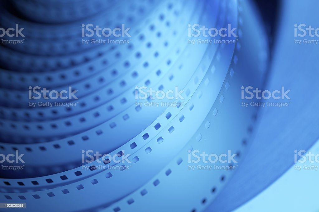 35mm motion picture film royalty-free stock photo