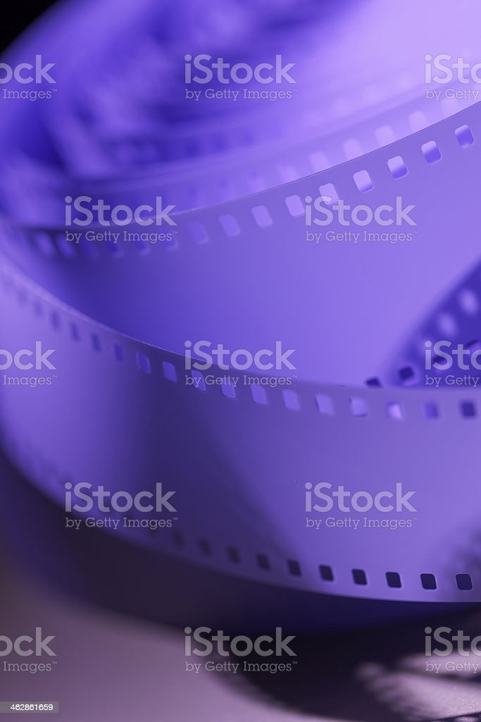 35mm motion picture film stock photo