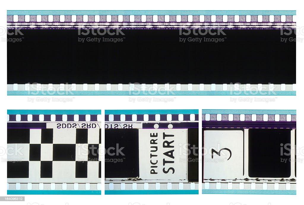 35mm movie films stock photo