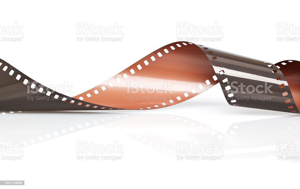 35mm negative Film stock photo
