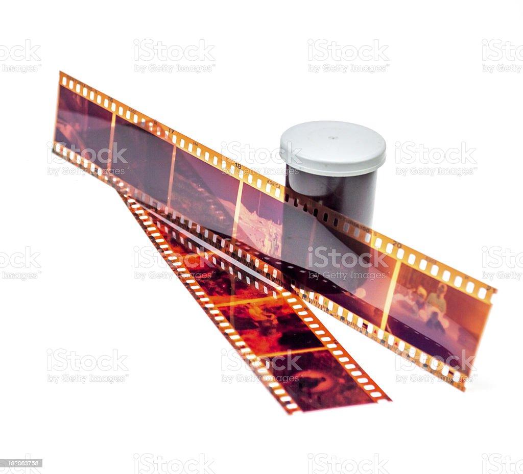 35mm Negative Strips stock photo
