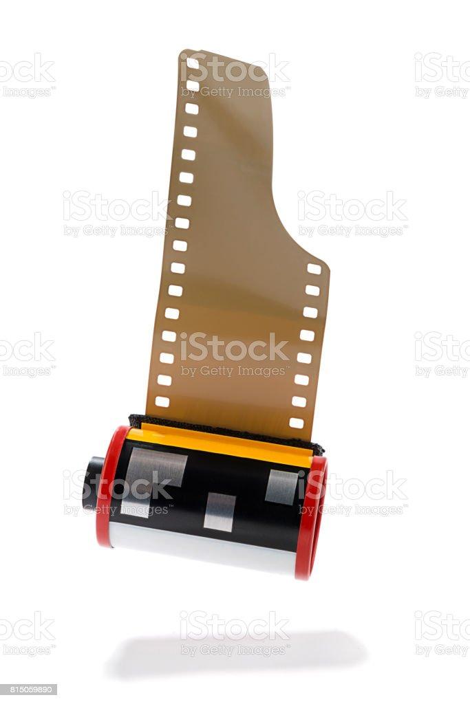 35mm Slide Positive Film Isolated stock photo