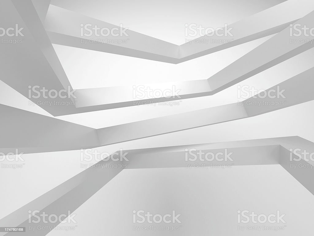 3d abstract architecture background royalty-free stock photo
