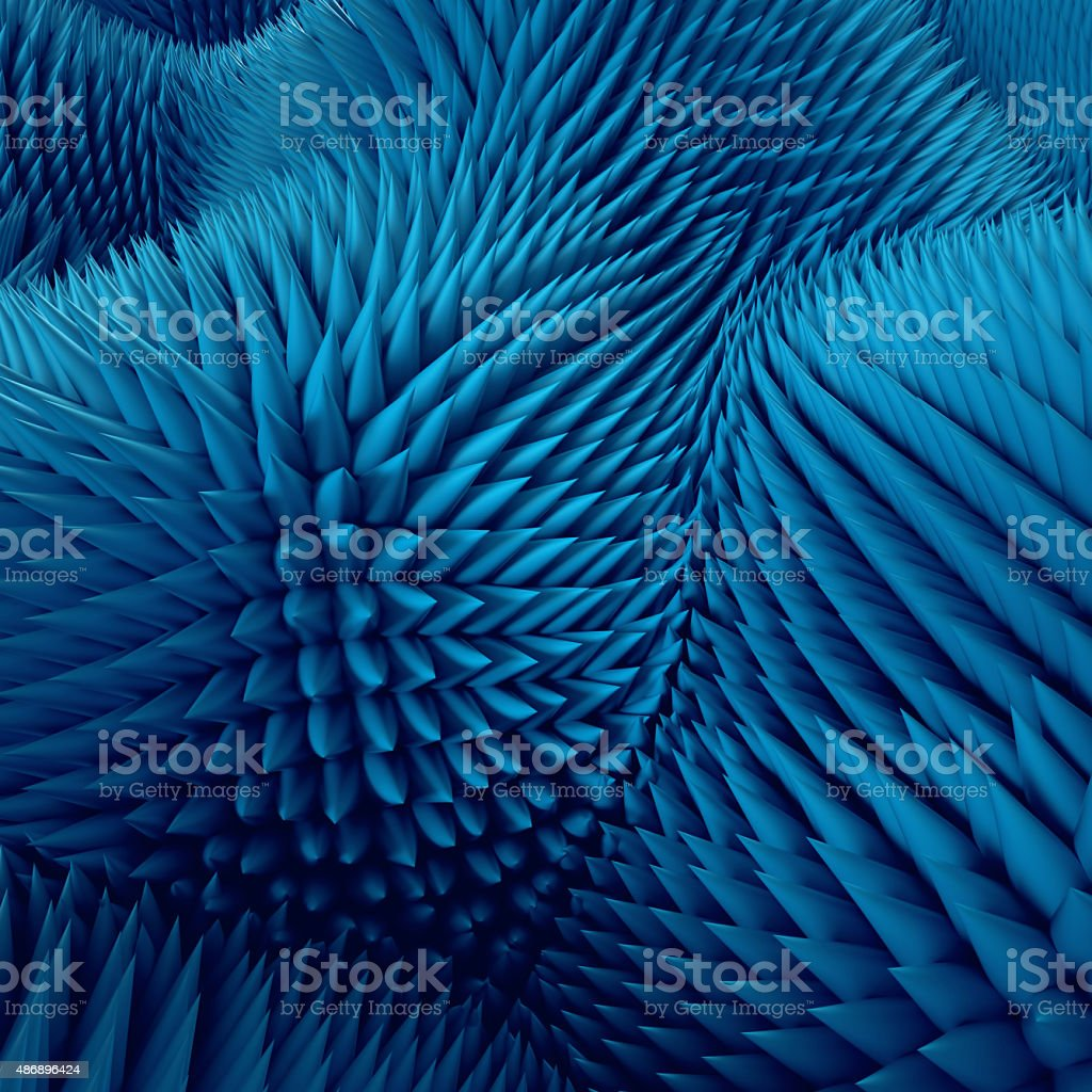 3d abstract blue background, nap macro tex stock photo
