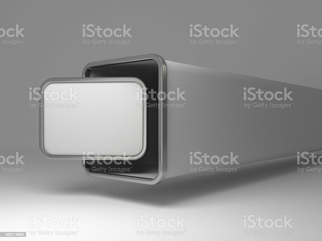 3d abstract display background royalty-free stock photo