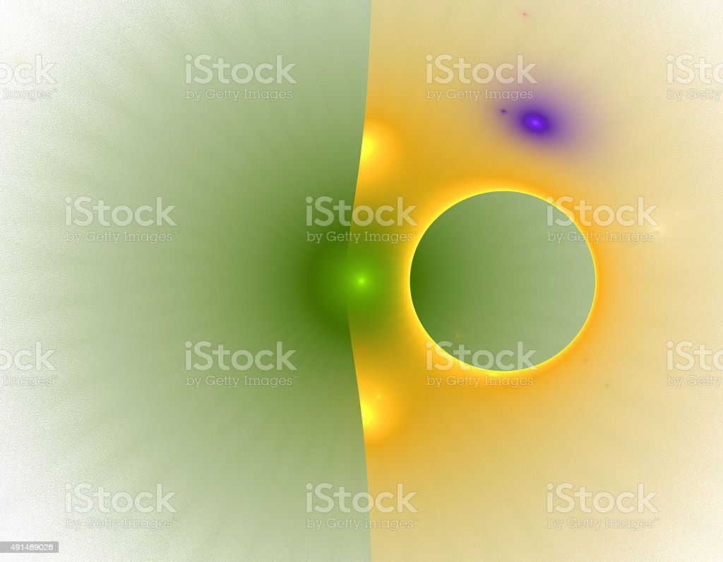 3d abstract fractal illustration background for creative design stock photo