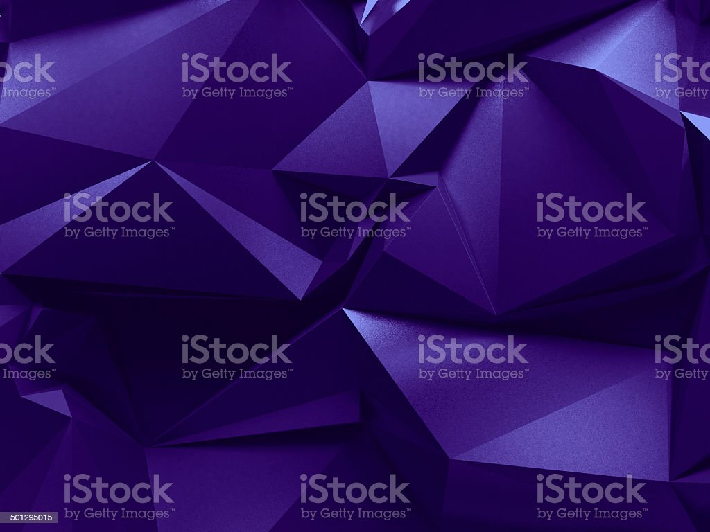 3d abstract violet purple crystal background royalty-free stock photo